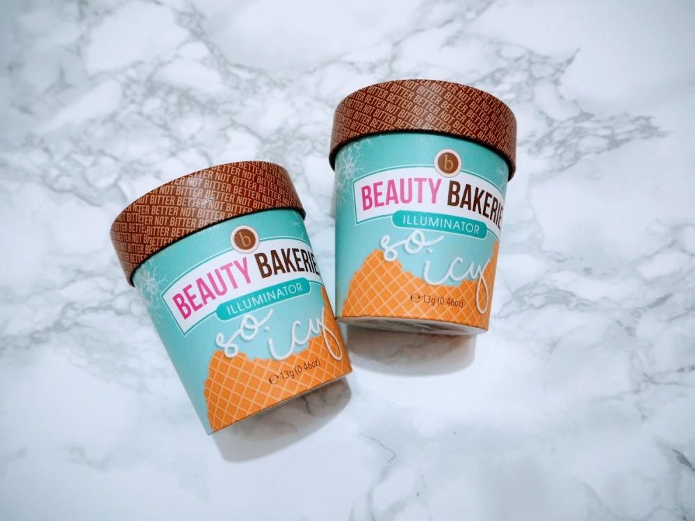 Beauty Bakerie So Icy Illuminators packaging Iced Glistened