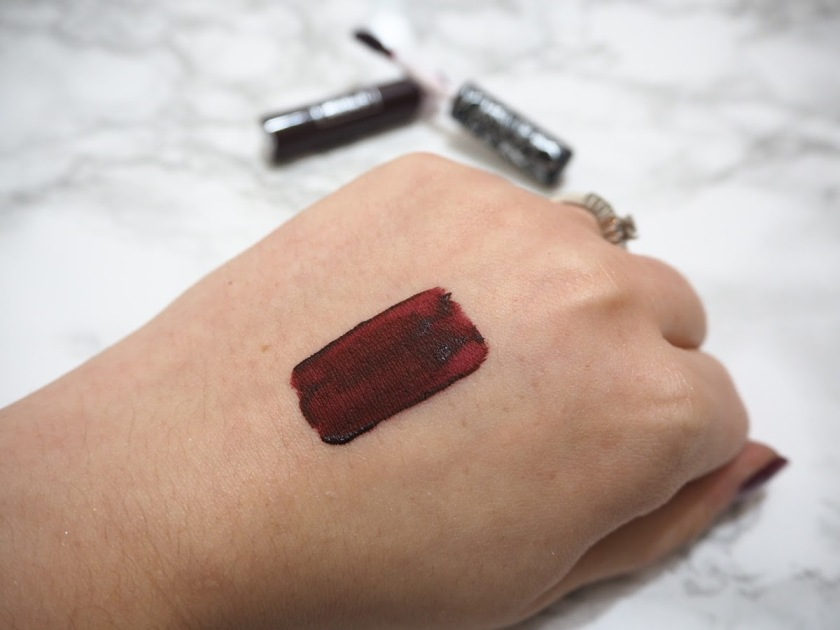 KVD lipstick swatch
