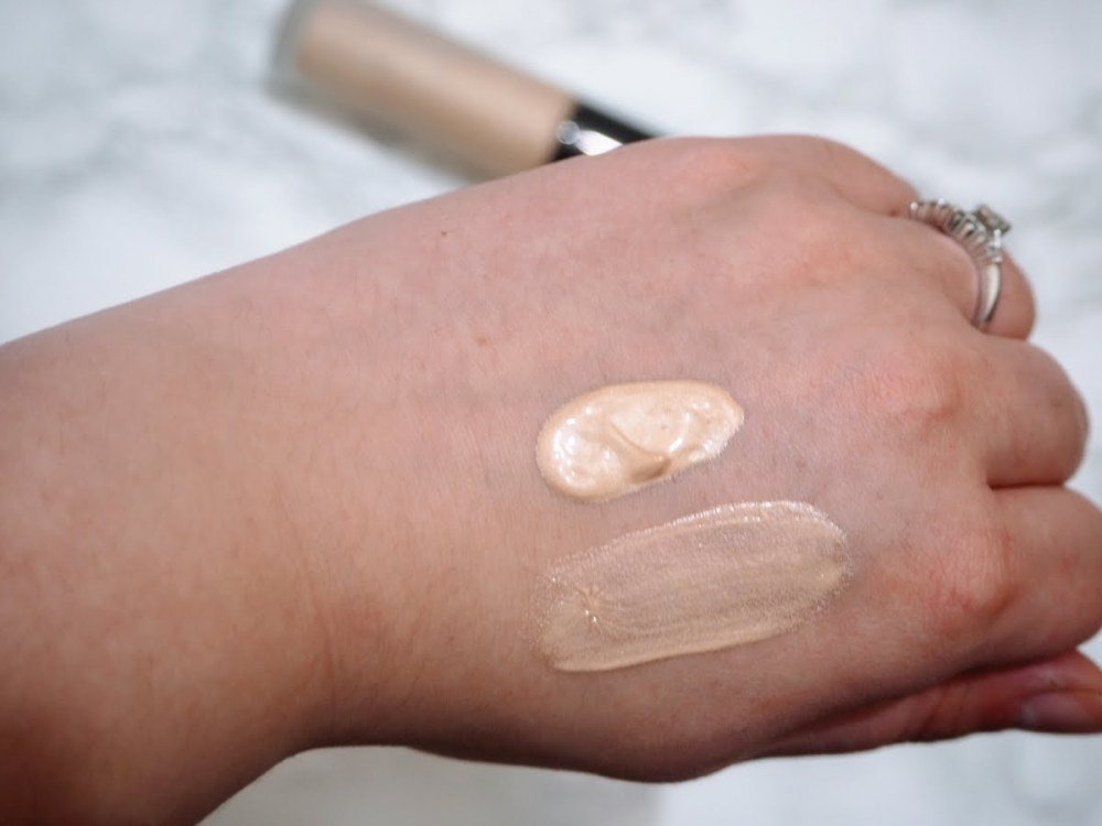 Becca Backlight Priming Filter Swatch