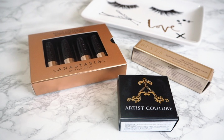 Anastasia Beverly Hills Mini Lipstick Artist Couture Coco Bling Stila Magnificent Metals Wonderlust