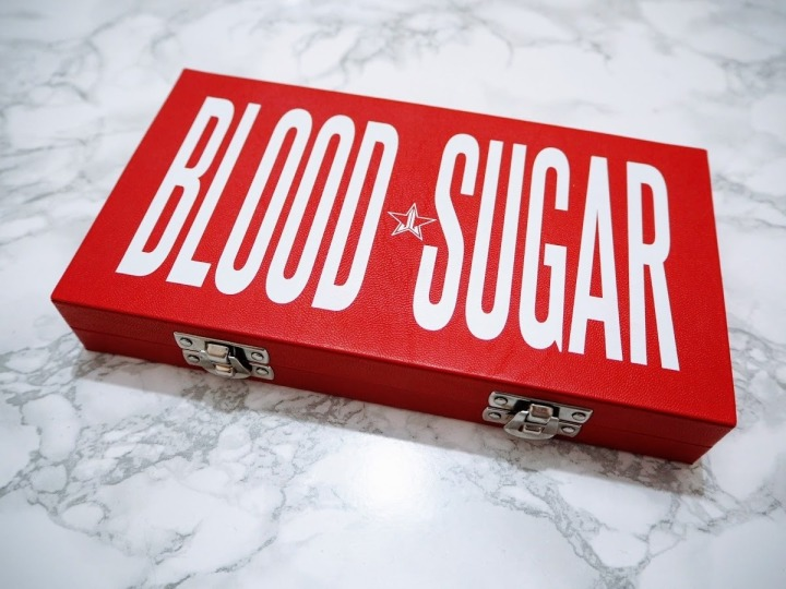 Jeffree Star Blood Sugar Palette | REVIEW