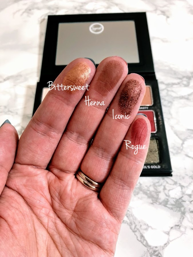 Sigma Warm Neutrals Vol 2 middle row swatches