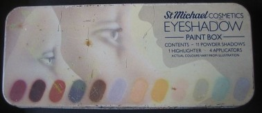 M&S Eyeshadow Palette 1