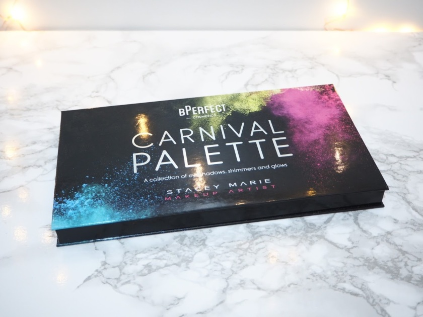 BPerfect Cosmetics x Stacey Marie Carnival Palette Review and Swatches