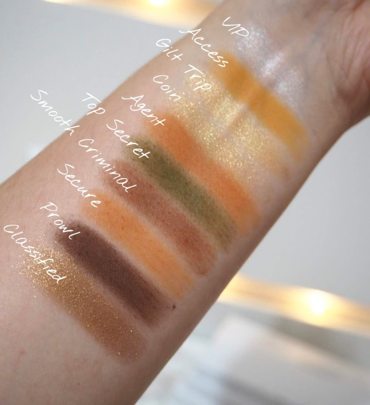 Armed and Gorgeous swatches