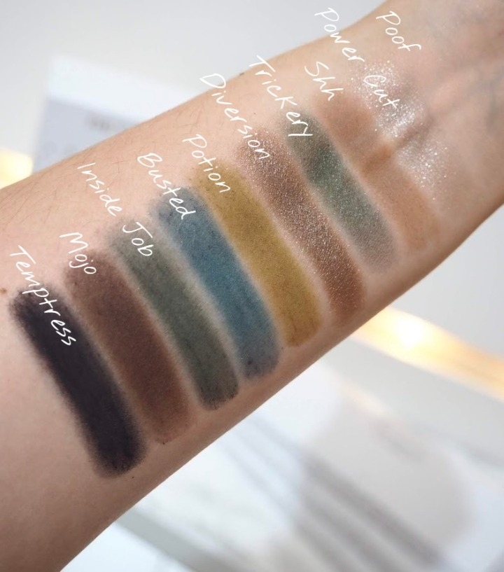 Dark Magic swatches