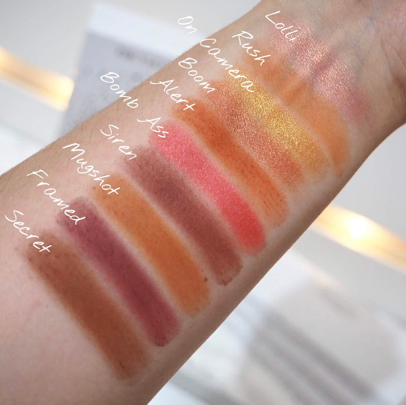 Ring The Alarm swatches