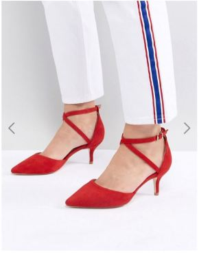 ASOS red shoes