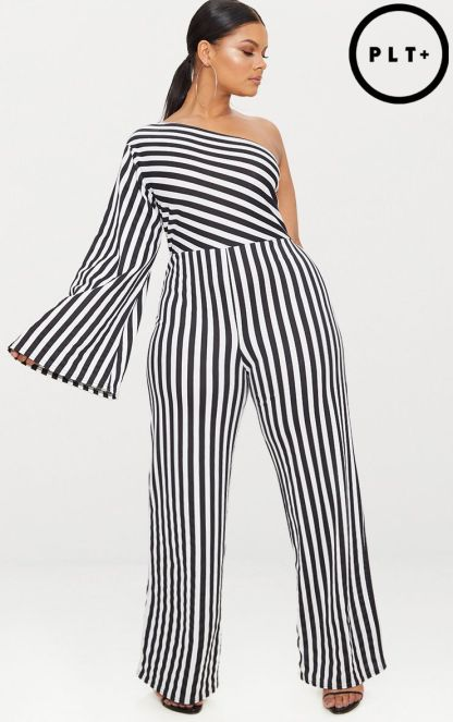 PLT one shoulder jumpsuit