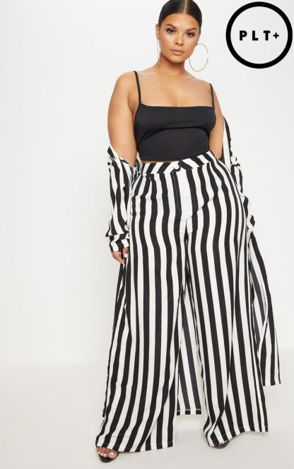 PLT wide leg trousers